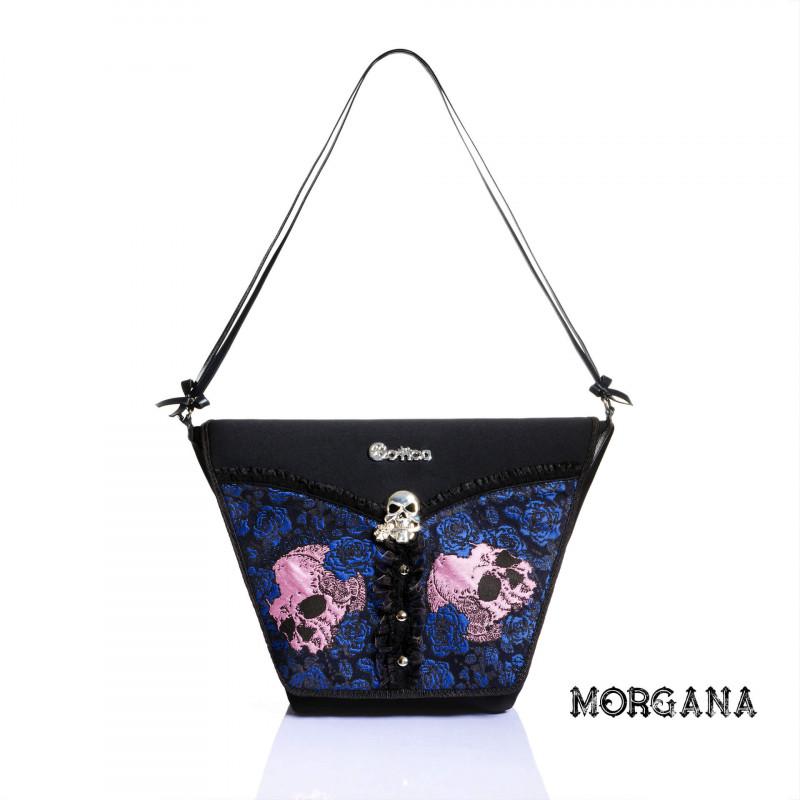 Borsa Gotica Morgana con Teschi